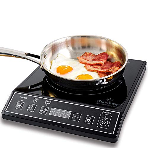 Hot Pot Stove - Secura 9100MC 1800W Portable Induction Cooktop Countertop Burner, Black