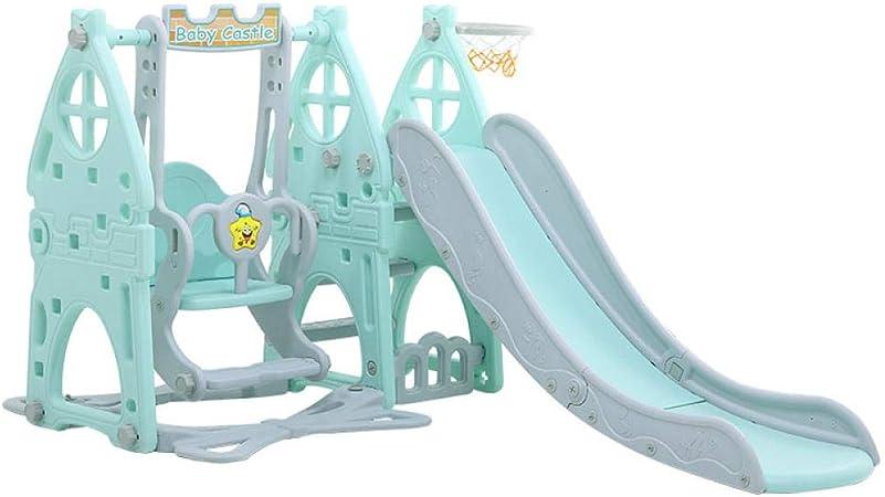 Kids Garden Playground,juguetes de jardín de infantes,toboganes de interior para niños,toboganes para bebés multifuncionales @ green,gimnasio de actividades de juego de jardín para niños pequeños: Amazon.es: Hogar
