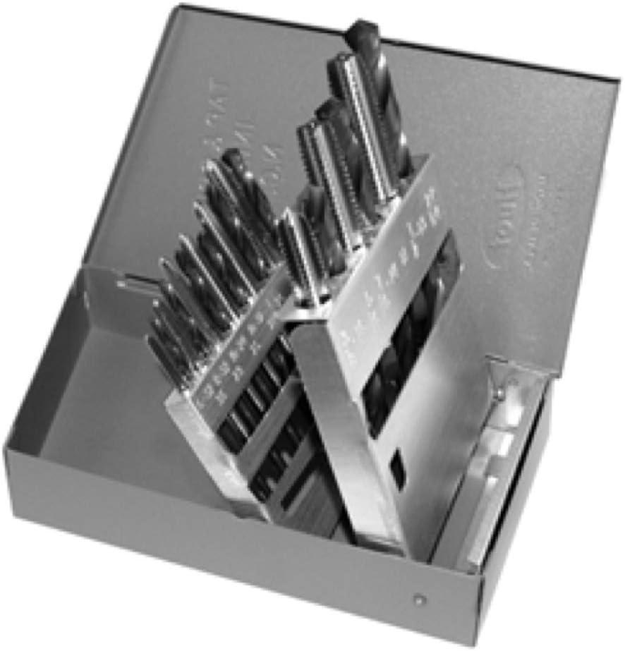 ALFA Tools TDSBB18NC 18pc HSS NC Us Plug Tap//Blitz Set