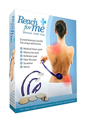 Reach For Me Telescoping Skin Care Tool Five Attachment Application System by HARVEST TRADING GROUP
