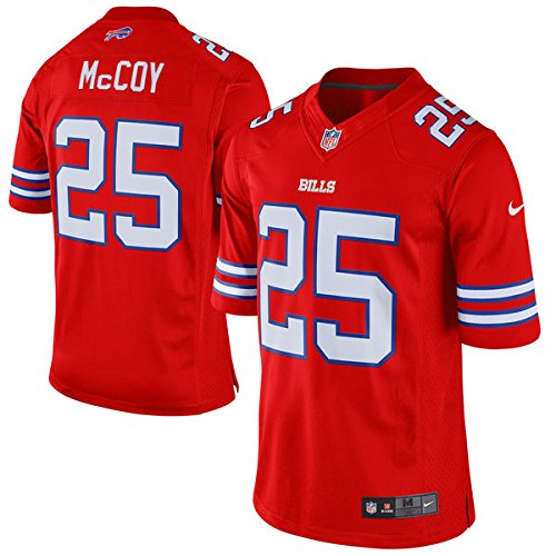 Mens Jersey Buffalo #25 LeSean McCoy Red Color Rush Limited Jersey