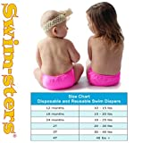 My Pool Pal Reusable Swim Diaper, Pink, 3T