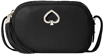 Kate Spade Kourtney Camera Leather Crossbody Bag Purse Handbag style # wkru6817