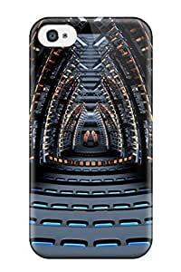 Premium Tpu Space Concert Hall Cover Skin For Iphone 4/4s by icecream design