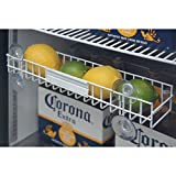 Cooler Refrigerator Rack For Lemons and Limes White Powder-Coated Steel - 13 5/8 L x 3'' W x 4 5/8 H