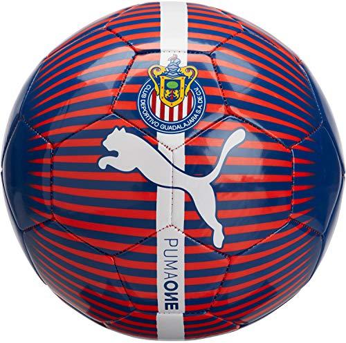 Liga MX Chivas PUMA Licensed AccessoriesOfficial License Supplier of Replica and On-Pitch Merch, Puma New Navy-Puma Red-Puma White, 5
