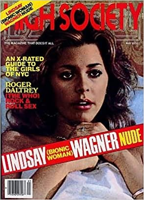 Sexy naked female magazine model