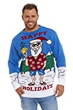 Santa's Happy Holiday Pullover