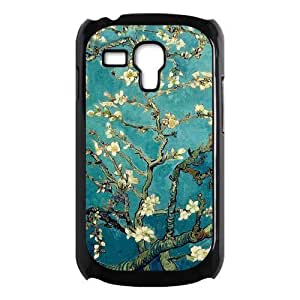 Cherry Blossom Painting Style On Blue Background Luxury For Iphone 5/5S Case Cover with Best Plastic ALL MY DREAMS