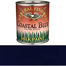 General Finishes QCB Milk Paint, 1 quart, Coastal Blue