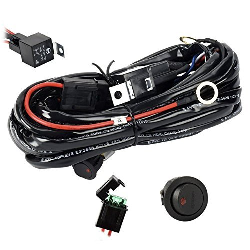 - Eyourlife 12V 40A Off Road LED LIGHT Bar On Off Power Switch Relay Wiring Harness