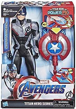 Oferta amazon: Avengers Titan Hero FX Capitán América (Hasbro E3301105)