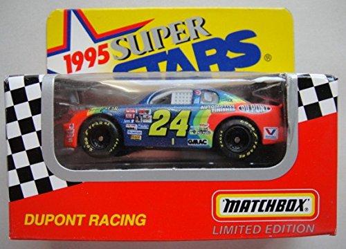MATCHBOX 1995 SUPER STARS DUPONT RACING JEFF GORDON #24 LIMITED EDITION