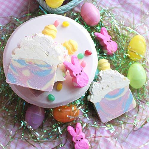 Easter Berry Basket - Handmade Spring Berries Artisan Soap Bar, easter, gift,vegan,handcrafted soap,Easter Gift Baskets, All Natural Soap,