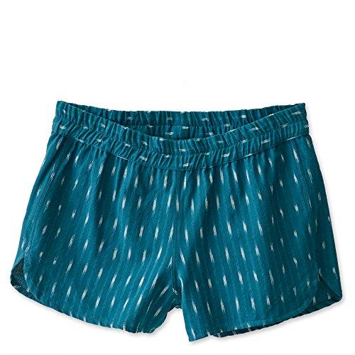 Kavu Climbing Shorts - KAVU Women's Aberdeen Shorts, Deep Teal, X-Large