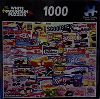 product image for White Mountain Puzzles 1000 Piece Jigsaw Puzzle Snackmania