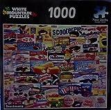 White Mountain Puzzles 1000 Piece Jigsaw Puzzle Snackmania