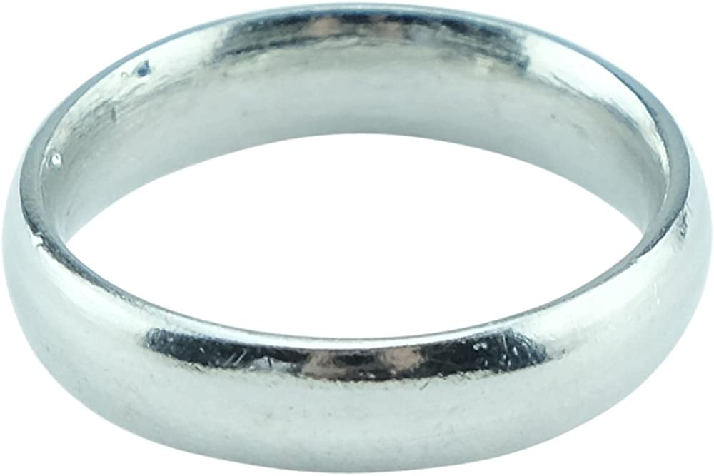 Amazon Com Pirantin Mens 10th Anniversary Ring Band 100 Tin