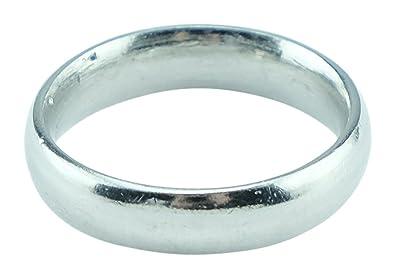 Amazoncom Mens 10th Anniversary Ring Band 100 Tin Gift Idea for
