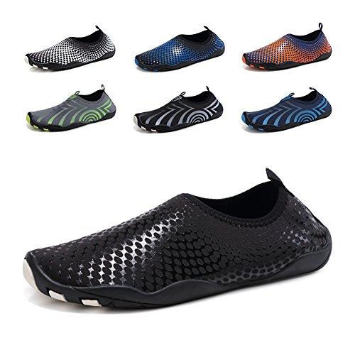 GUBARUN Mens Water Shoes Swim Shoes Women Quick-Dry Beach Barefoot Surf Yoga Boat Sneakers