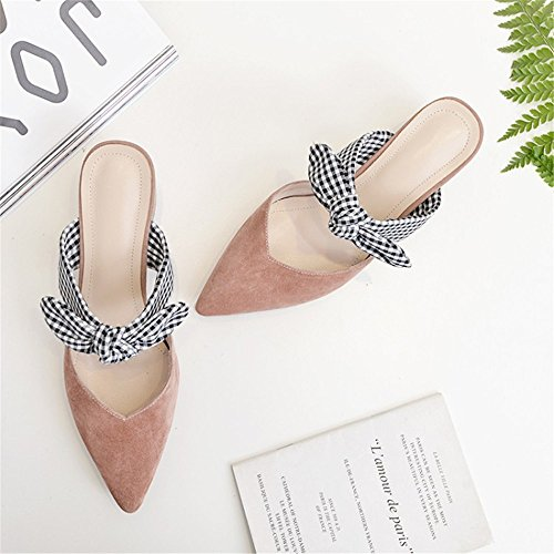 Pointed 6 Layer The 5 Size Thick Pink First US Color of Bow in Heel with The Pink wHOX1tq