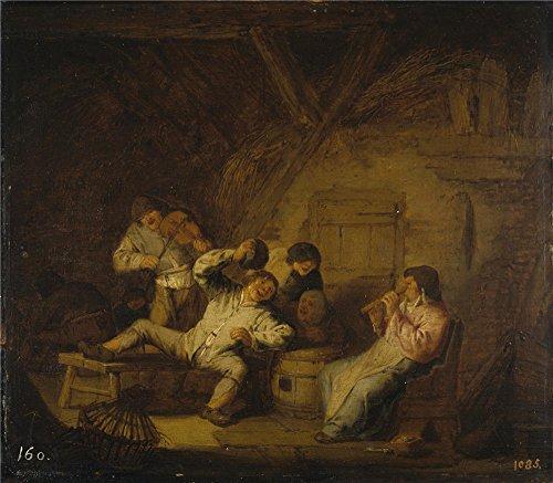 Oil Painting 'Ostade Adriaen Van Concierto Rustico Con Flaut