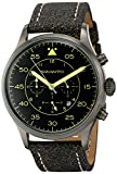 Szanto Men's SZ 2601 Szanto 2600 Series Analog Display Japanese Quartz Black Watch