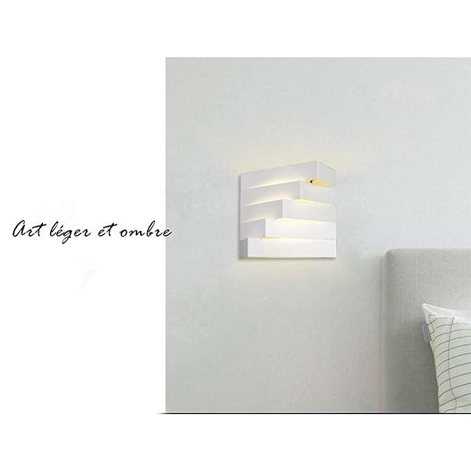 Creative lámpara de pared en hierro moderno escala ...