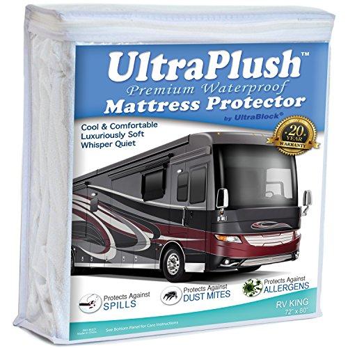 UltraPlush Premium Waterproof Mattress Protector
