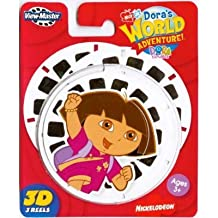 Fisher Price Dora's World Adventure Viewmaster 3D Reels [Toy]