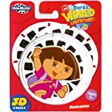 Fisher Price Dora's World Adventure Viewmaster 3D Reels