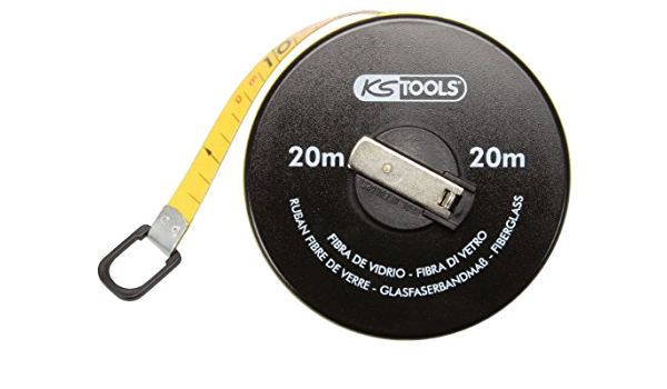 KS Tools 300.0042 Cinta m/étrica en Tambor 30m tama/ño: 30 m