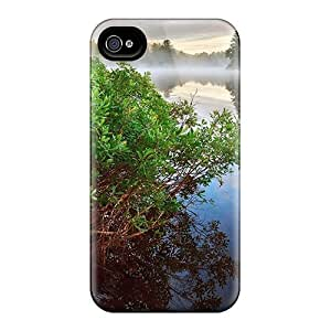 YCSPnQh8396sthhn BrnLRoon Glorious Natural Riverscape In The Morning Durable Iphone 4/4s Tpu Flexible Soft Case