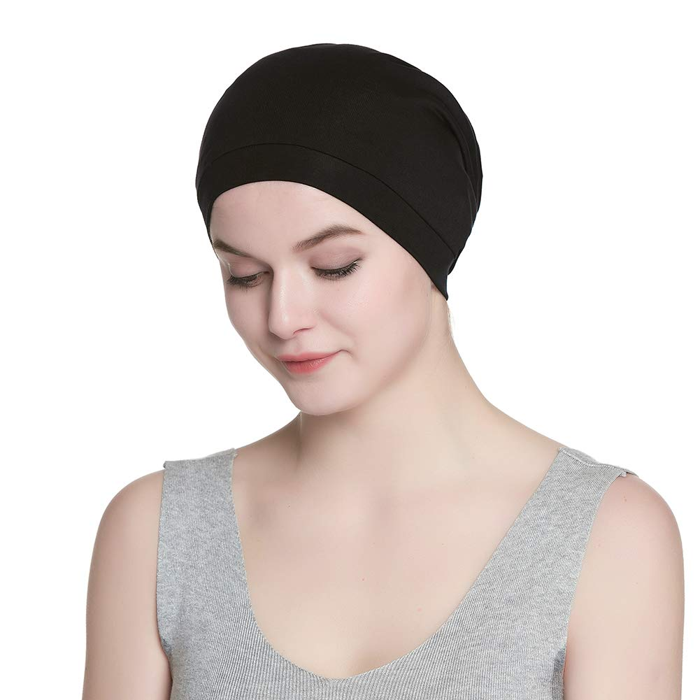 Cozy Satin Lined Slouchy Beanie Cap with Soft Elastic Band for Men   Women  at Amazon Men s Clothing store  277315d72e4