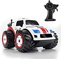 Hugine RC Car Amphibious Car,2.4GHz Land&Water Vehicle for Kids Children Boys and Girls