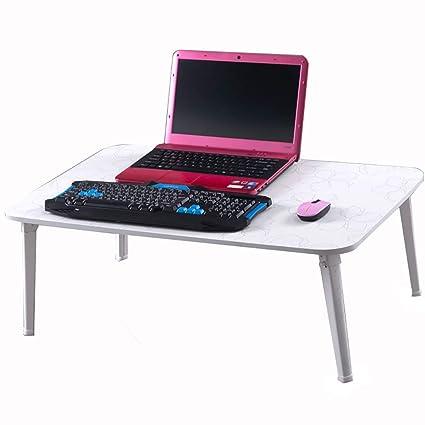 XING ZI Folding table X-L-H Escritorio De La Computadora Portátil Cama Escritorio Cama Dormitorio Dormitorio Plegable