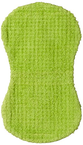 Contemporary Baby Chenille Burp Cloth Lime Green