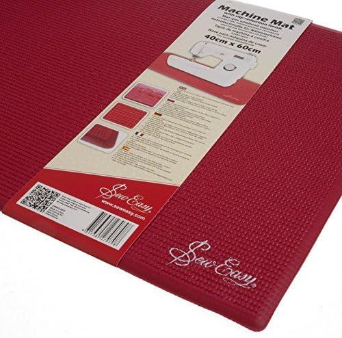 TAMEHOM XR R905.RED Sewing Machine Slip Reduction Mat 40 x 60cm White