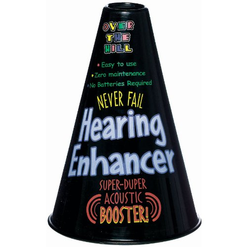 The Party Continuous Adult Birthday Party Senior Moments Hearing Aid , Black , 8 1/4
