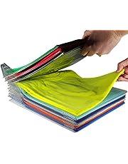 20 Stks Thuis Kast Kleding Folder Organizer Shirt Folder Documenten Verdelers T-Shirt Organisatie Systeem Kast Kleding Organizer T-Shirt Organisatie Syst