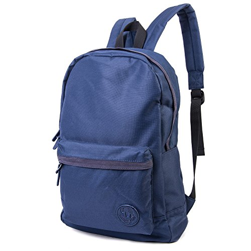 2e8f1eee782fdc Elephant Brand Basic Navy School Backpack (Navy Canvas Backpack EBP-01) by  Elephant