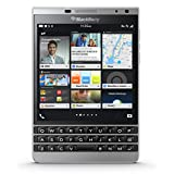 BLACKBERRY PASSPORT SILVER EDITION RHR191LW 32GB SQW100-4 QWERTY FACTORY UNLOCKED 4G/LTE CELL PHONE