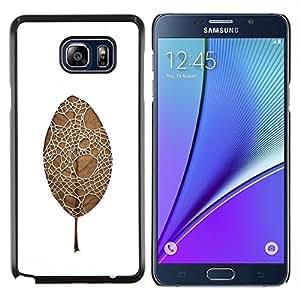 Caucho caso de Shell duro de la cubierta de accesorios de protección BY RAYDREAMMM - Samsung Galaxy Note 5 5th N9200 - hoja de araña