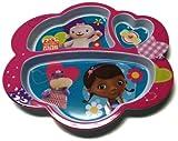 Disney Doc McStuffins Children's Divided Dinner Plate