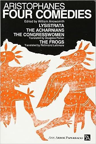 four comedies ann arbor paperbacks