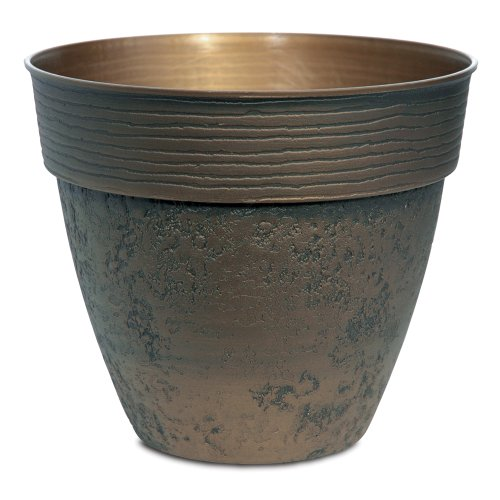 (Listo Avino Planter, 13-Inch, Celtic Bronze)