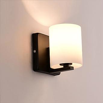 Applique En Nordique Bois E27 Fer Verre Couvercle Lampe Vis Abat QCsrxBthdo