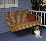 A Full Size Woodworking Pattern and Instructions to Build a Lazy Days Porch Swing