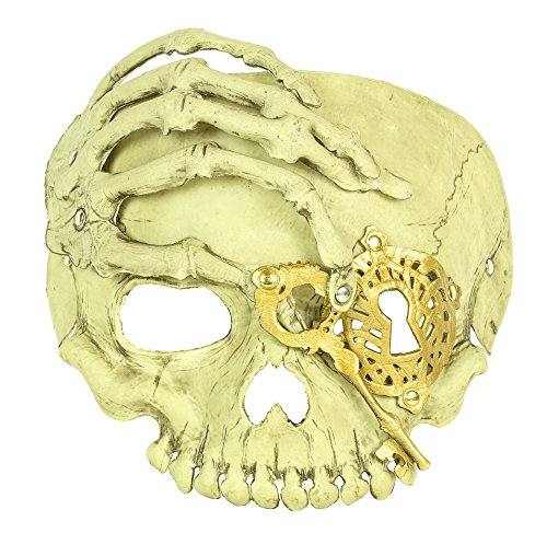 Steampunk Soft Gel The Skeleton Bone Hand Halloween Cosplay(Bone)]()