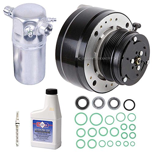 - New AC Compressor & Clutch With Complete A/C Repair Kit For Chevy GMC S10 Blazer - BuyAutoParts 60-80306RK New